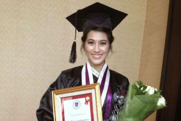 Kebahagiaan Alyssa Soebandono usai menyelesaikan kuliahnya di luar negeri