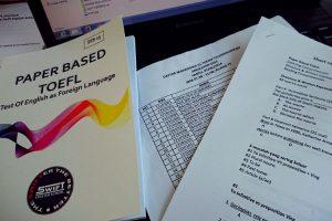 Mempersiapkan diri untuk tes TOEFL